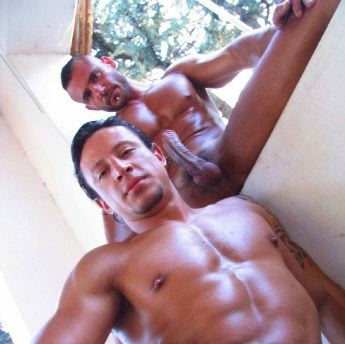 Smooth muscle boys with hard cock