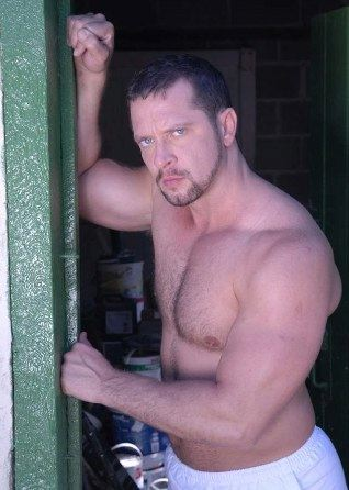 Vinnie D'Angelo shirtless shows off his furry chest