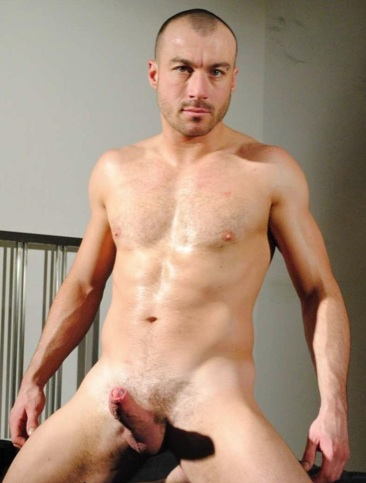 thierry lamasse shows off his big fat cock