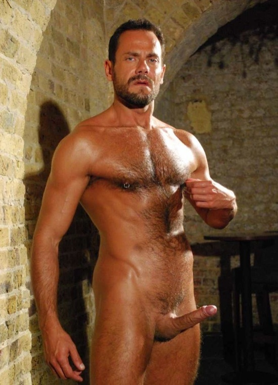 Hoy hairy daddy with a huge cock, Jason Torres