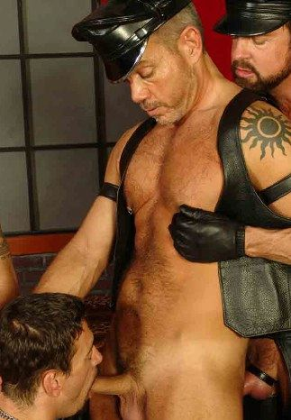 Scott Gable forces Joshua to suck his hard cock