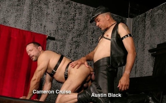 Cameron Cruise getting his ass fucked raw by Austin Black