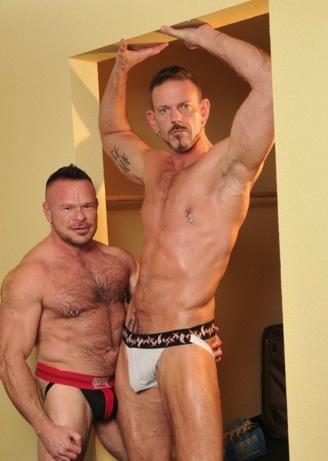Peter Axel and Collin Steele