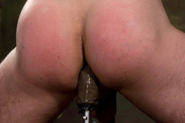 Smooth muscle ass takes a pounding<br />