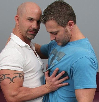 Studs Brock Armstrong and Brendang Cage feel each other up