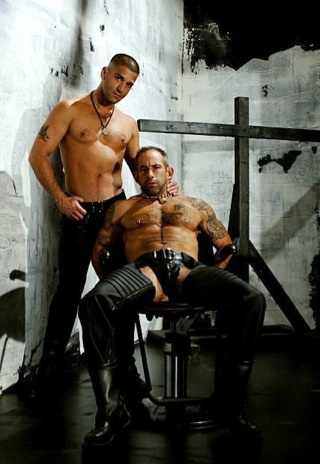 Anthony Drago and Derek da Silva in a dungeon
