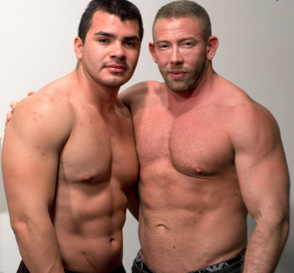 Muscle studs Rick Romo & Shay Michaels