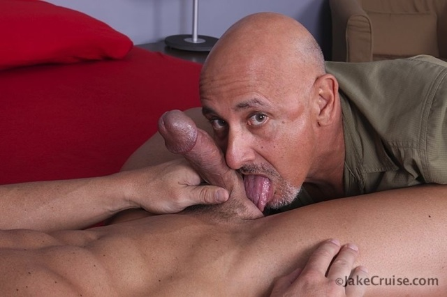 jake licking zeb's dick and balls.