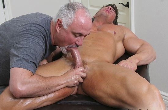 Jake gives Zeb a blow job
