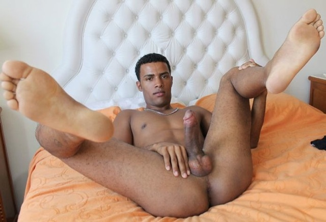 latin twink twink huge cock shows off his tight hole