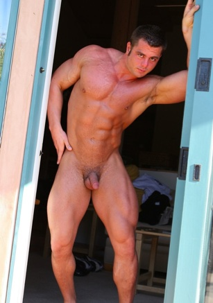 Frank Defeo ripped muscle jock