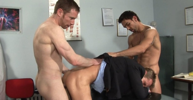 Billy Berlin fucks Neil Steven's hot smooth hole