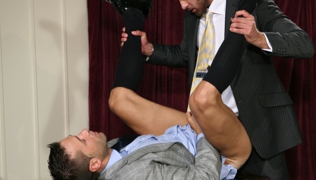 Hugo Martin getting his ass plowed by Marco Wilson