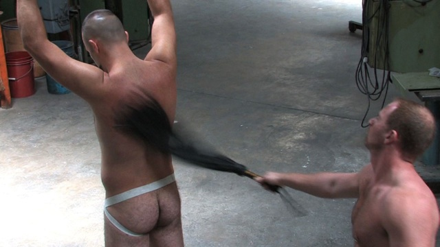Adam Faust teaches Boy Filmore a lesson by flogging him