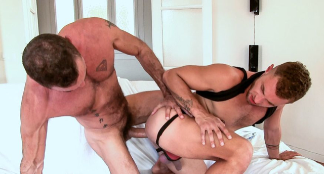 Lito Cruz destroys a young hole with his hard dick