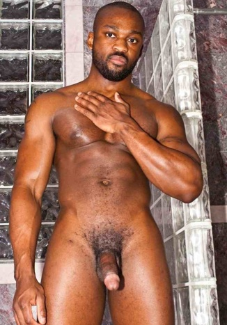 Hot built black stud Derek Reynolds