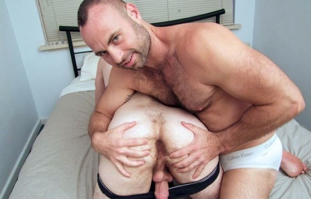 Collin shows off Josh's hot hairy hole