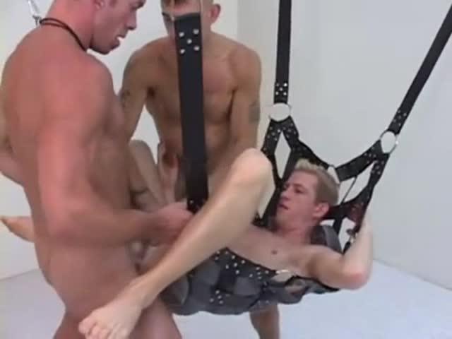 Twink in a sling