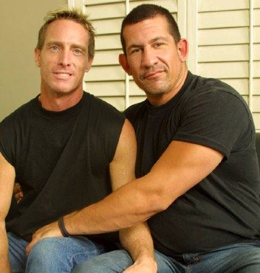 Muscle Daddy Joe Romero and Scott Mann