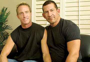 Scott Mann and muscle Daddy Joe Romero