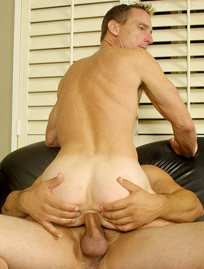 Scott takes massive raw cock in his tight hole