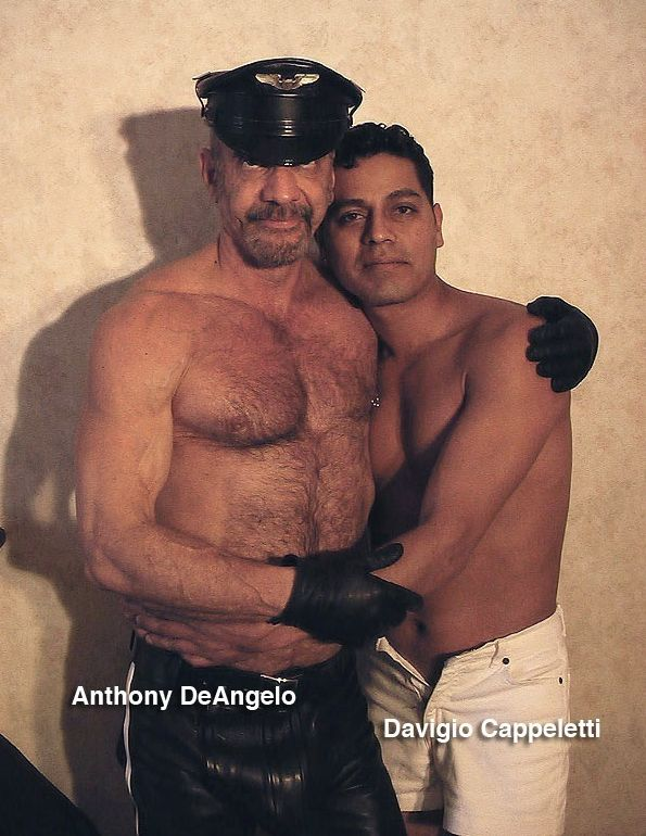 Leather Daddy Anthony DeAngelo and Davigio Cappeletti