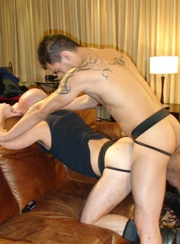 Sage pounds Aiden\'s hole bareabck