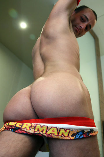 Ass pic of Mitch Milano