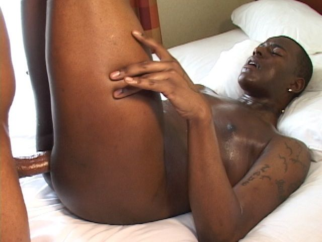 Trini takes a big raw dick in his ass