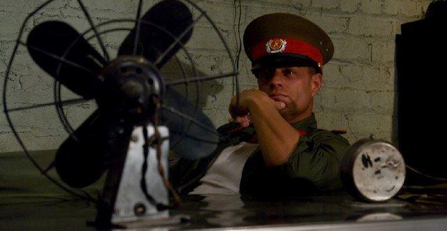 prisoner gets interrogated by miltary police boundgods