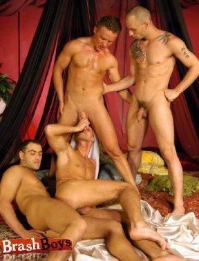 4-way Arabian orgy