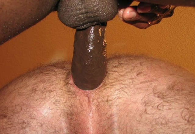 Ray's hairy ass filled with raw dick