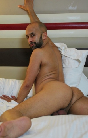 Igor Lucas ass up naked on the bed