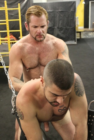 Dominic gets his ass fucked raw by Tober