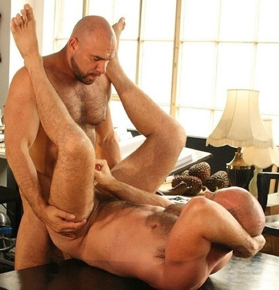 Axel Ryder fucks Marco de Brute in the ass.