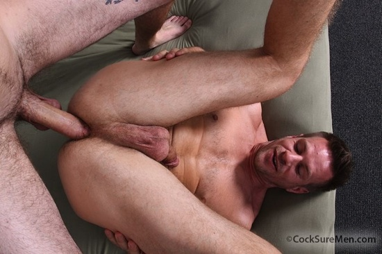 park's greedy hole opens wide to take all of hayden's massive uncut cock.