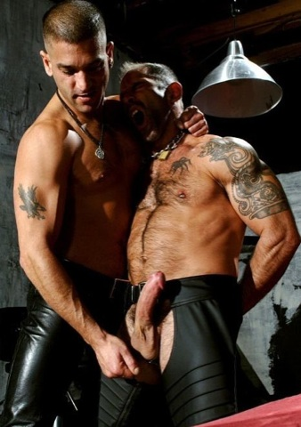 Anthony plays with Derek\'s balls
