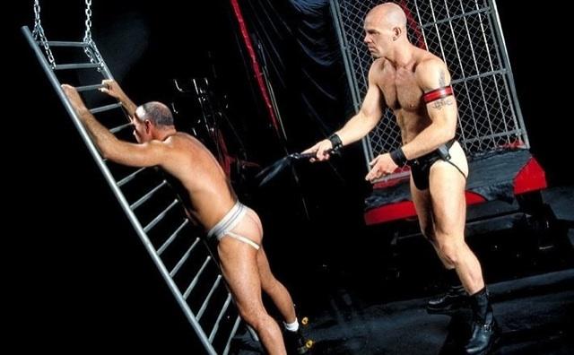 Lance Gear floggs Steve Parker