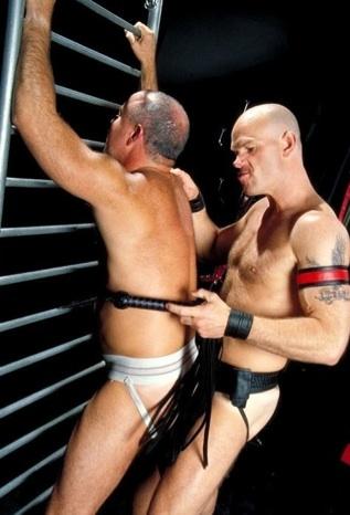 Lance teases jockstraped Steve