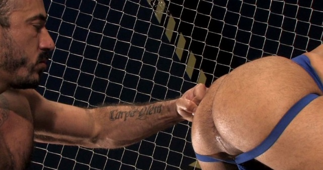 Alessio Romero punches Leo's hot ass
