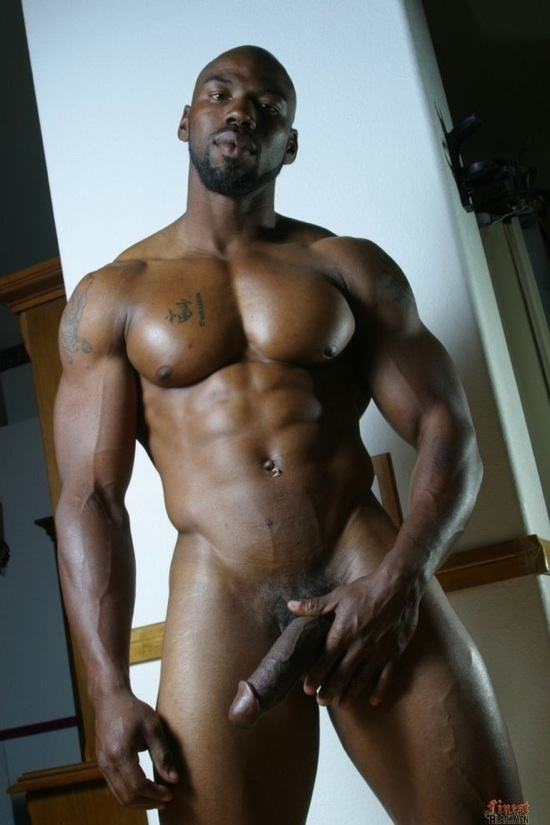Naked black thug men-8926
