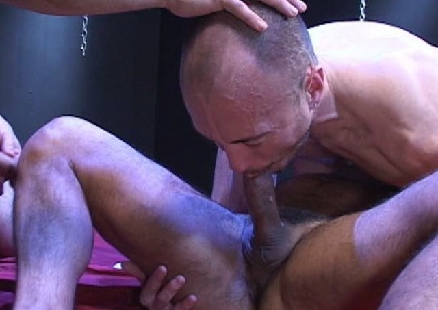 Jayson forced down further on a fat dick