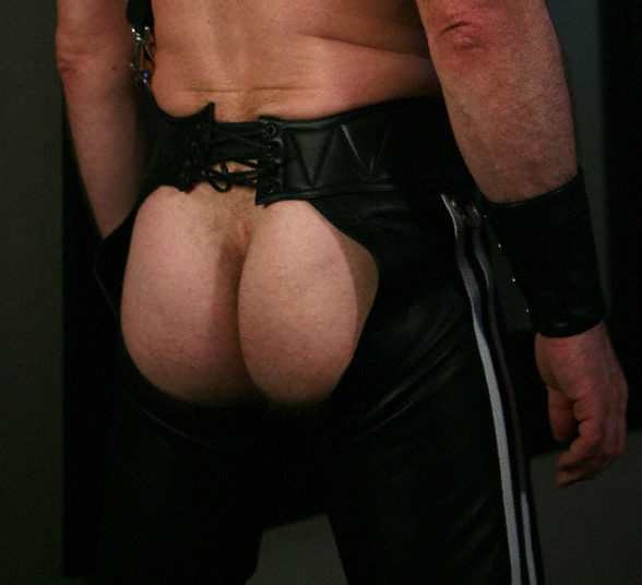 Ass pic of Greg Mitchell