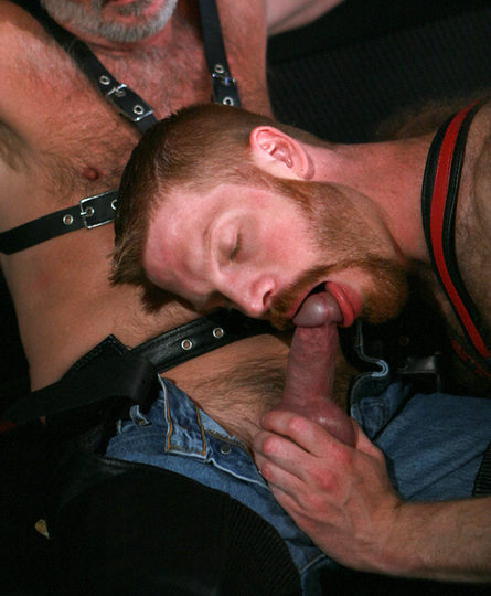 Kegan shows off his amazing cock sucking skills for Karl