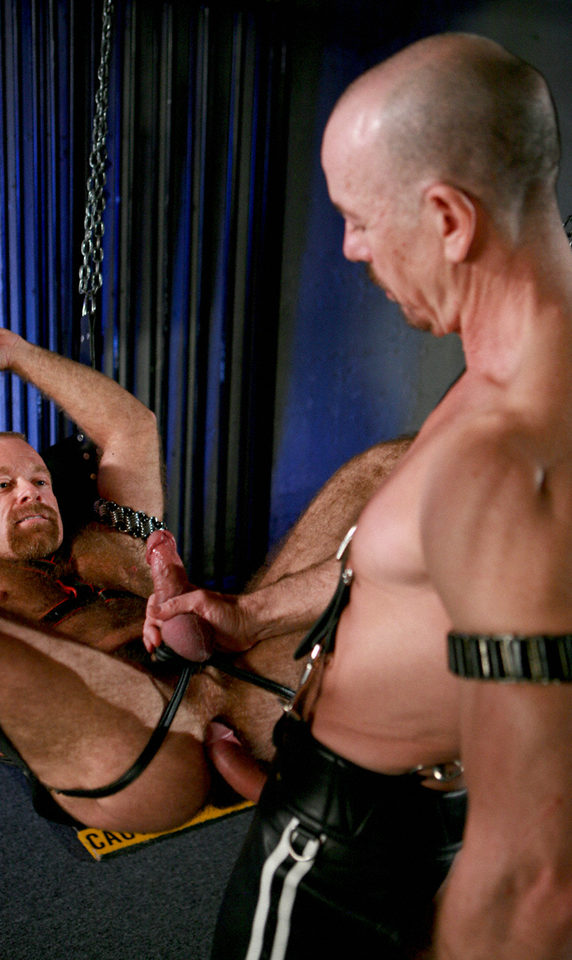 Greg ready to slip his cock into Rob\'s hungry hole