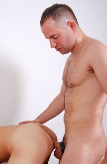 Beefy Jasper forces his raw dick into Eddy\'s young hole