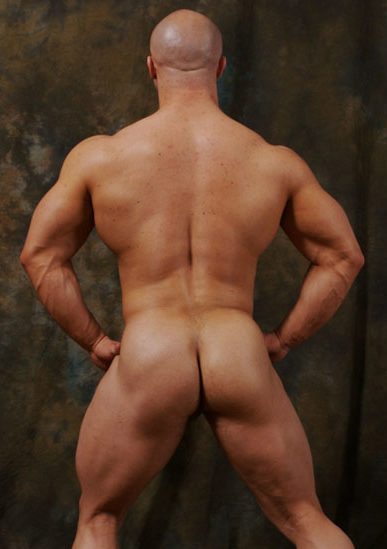 Kyle Stevens hot muscled ass and back