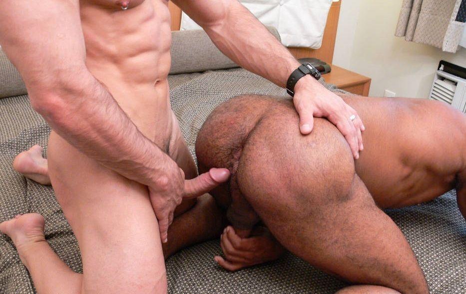 Black muscle bottom gay porn