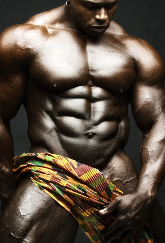 The perfect bodybuilder body