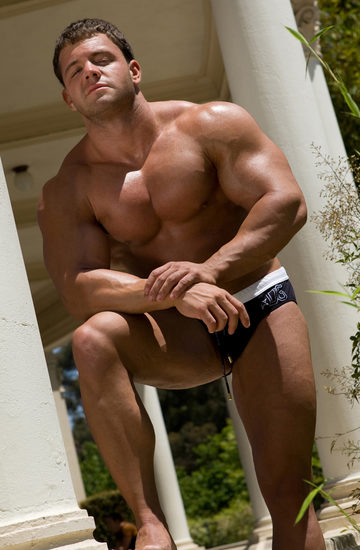 A- Bomb the Hunk in Speedos